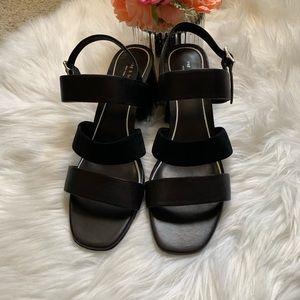 size 41, NWOT Rag & Bone chunky acrylic heels